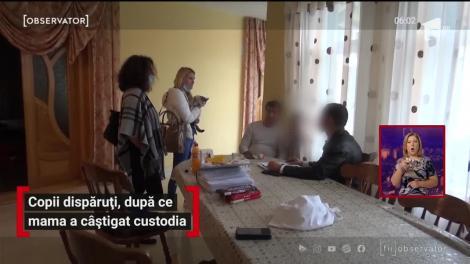 Copii dispăruți, după ce mama a câștigat custodia
