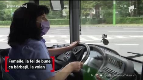 Femeile, la fel de bune ca bărbații, la volan
