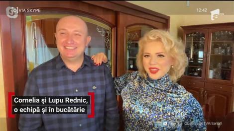 Cornelia şi Lupu Rednic fac echipă bună și în bucătărie. Artiștii au un canal de YouTube unde postează rețete inedite