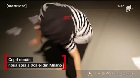 Copil român, noua stea a Scalei din Milano