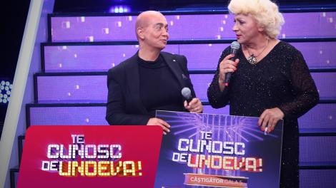 """Monica Anghel și Marcel Pavel au câștigat a cincea ediție a sezonului XV """"Te cunosc de undeva!"""""""