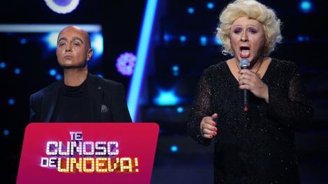 """Marcel Pavel se transformă în Monica Anghel, iar Monica Anghel în Marcel Pavel și cântă """"Tell Me Why"""", la Te cunosc de undeva!"""