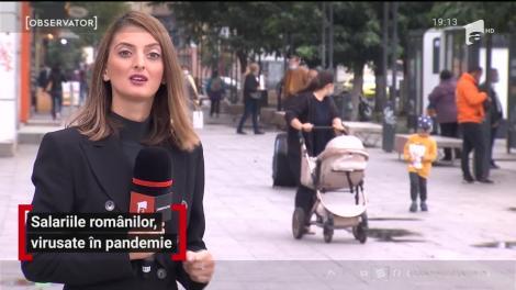 Salariile românilor, reduse în pandemie