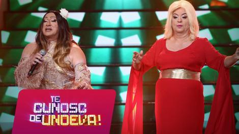 """Romică Țociu și Adriana Trandafir se transformă în Margherita si Viorica de la Clejani - """"Ola CreOla!"""", la Te cunosc de undeva!"""