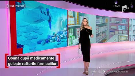 Goana după medicamente golește rafturile farmaciilor
