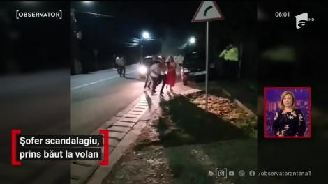 Șofer scandalagiu, prins băut la volan