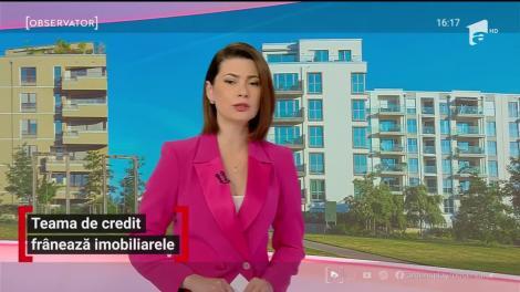 Teama de credit frânează piața imobiliară