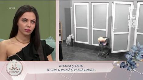 Ștefania a plâns 40 de minute în baie, după o discuție serioasă cu Mihai: Vreau să plec acasă!