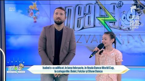 Isabel Ioniță, fiica Oanei Ioniță, a câștigat burse de studii în Rusia și Italia, la doar nouă ani