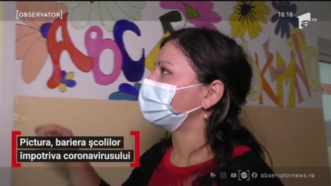 Pictura, bariera școlilor împotriva coronavirusului