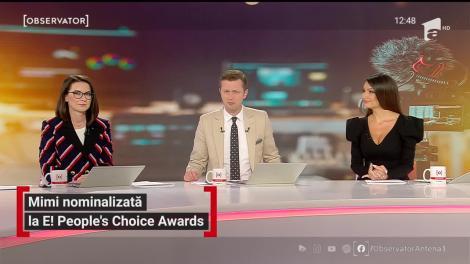 Mimi a fost nominalizată la E! People's Choise Awards