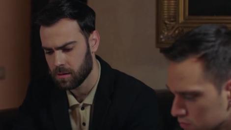 Andrei și Amza citesc biletul de adio al lui Ștefan