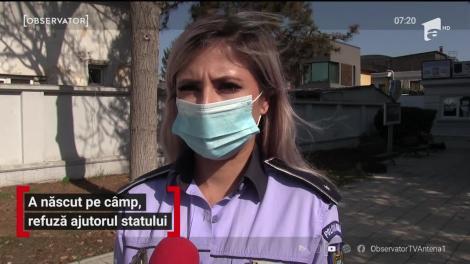 Caz uluitor la Constanţa. O tânără a născut pe câmp și refuză ajutorul statului