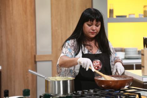Maria Ilie, plină de energie la Chefi la cuțite: O să plâng daca nu îmi dau nimic