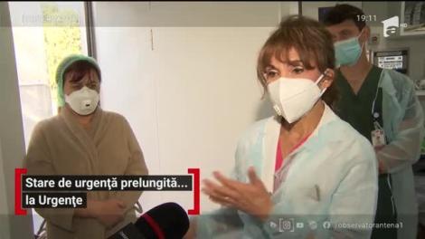 Starea de urgență, prelungită la spitalul din Ploieşti
