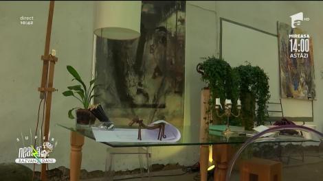 Arta, un loc esențial în viața oamenilor. Răzvan Fodor: Am multe locuri luminoase în casă unde am flori!