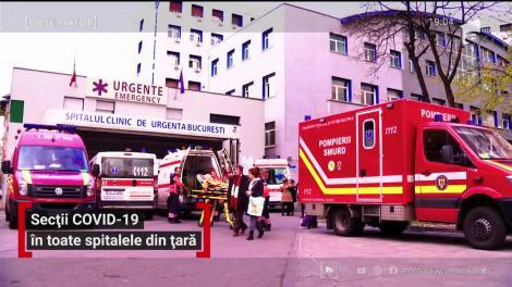 Toate spitalele din Bucureşti vor primii bolnavi diagnosticaţi cu COVID-19