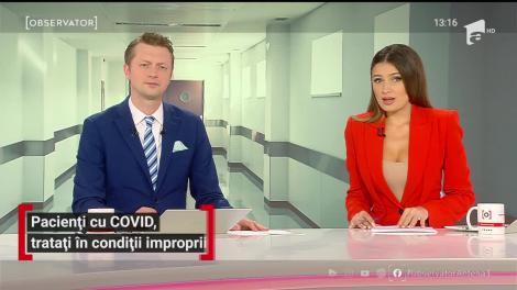 Pacienți cu COVID-19, tratați în condiții improprii