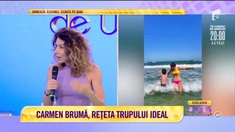 Carmen Brumă, mai sinceră ca niciodată! Iubita lui Mircea Badea a dat tot din casă