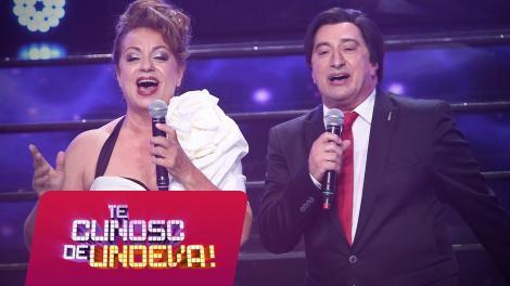 """Romică Țociu și Adriana Trandafir se transformă în Angela Similea și Marius Țeicu - """"Tu, iubirea mea"""", la Te cunosc de undeva!"""