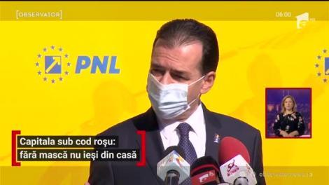 Capitala sub cod roșu: fără mască nu ieși din casă