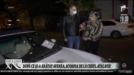 După ce și-a arătat averea la televizor, mașina i-a fost vandalizată! Amalia Bellantoni iese la atac: Omul nu mai are voie să aibă o viață privată pentru că vine cineva și îți face asta!