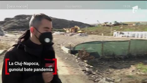 La Cluj-Napoca, gunoiul bate pandemia