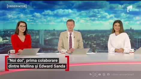 """""""Noi doi"""", prima colaborare dintre Mellina şi Edward Sanda. Povestea din spatele versurilor"""