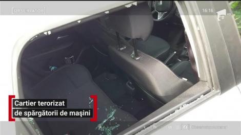 Cartier din Timișoara, terorizat de spărgătorii de mașini