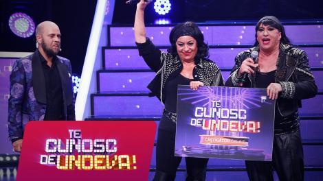 """Romică Țociu și Adriana Trandafir au câștigat a șaptea ediție a sezonului XV """"Te cunosc de undeva!"""""""