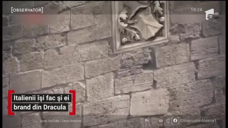 Brandul Dracula se mută din Transilvania în Italia