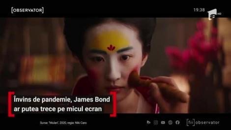 Învins de pandemie, James Bond ar putea trece pe micul ecran