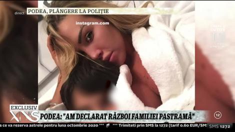 Raluca Podea a făcut plângere la poliție împotriva familiei Pastramă