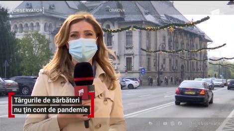 Marile oraşe au furat startul pregătirilor de Crăciun. Craiova, Suceava şi Târgu Jiu au intrat în atmosfera sărbătorilor de iarnă cu două luni înainte