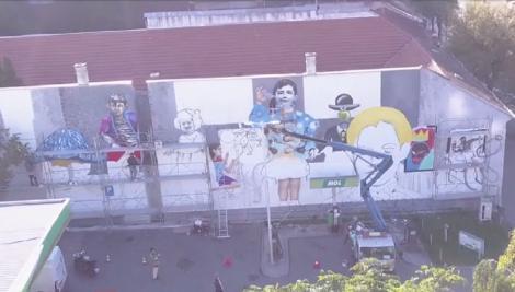 Artă și culoare pe pereții școlilor