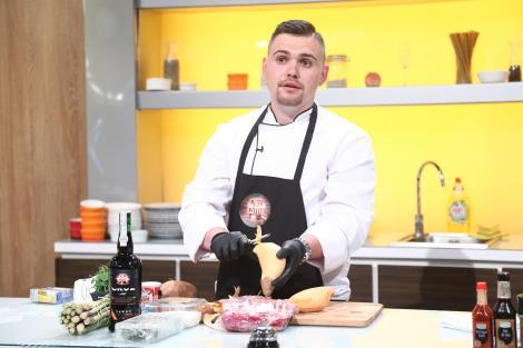 Ștefan Alex Godja a reușit să-l enerveze pe Chef Florin Dumitrescu