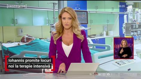 Președintele Iohannis promite locuri noi la terapie intensivă