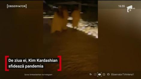 De ziua ei, Kim Kardashian sfidează pandemia