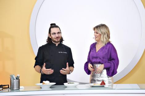 Chef Florin Dumitrescu jurizează preparatele pentru amuleta 24