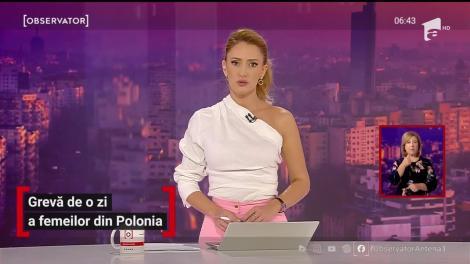 Grevă de o zi a femeilor din Polonia