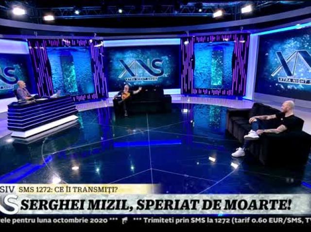 Serghei Mizil, speriat de moarte!