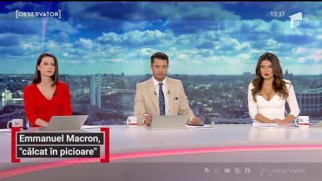"""Emmanuel Macron, """"călcat în picioare"""" într-un magazin de haine din Tripoli"""