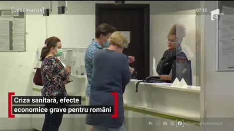 Criza sanitară, efecte economice grave pentru români
