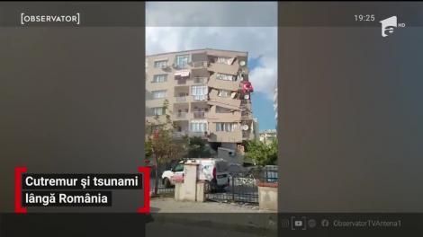 Un cutremur cu magnitudinea 7 a devastat două ţări, Grecia şi Turcia