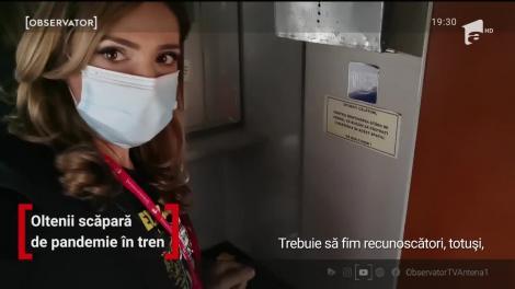 Regulile nu sunt făcute pentru toţi. Oamenii uită de mască sau o poartă sub nas, iar dezinfectantul la toaleta din tren lipseşte cu desăvârşire