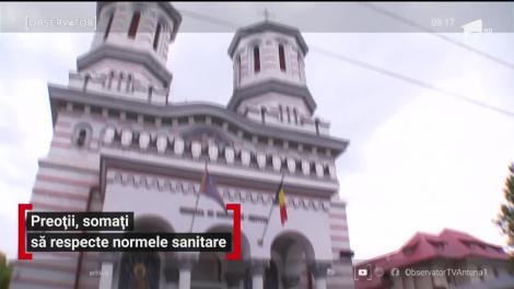 Preoţii din Suceava, somați să respecte normale sanitare