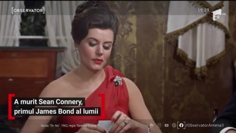 A murit Sean Connery, primul James Bond al lumii