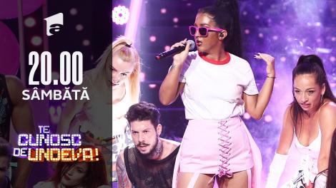 """ADDA se transformă în Rihanna - """"Don't stop the music"""", la Te cunosc de undeva!"""