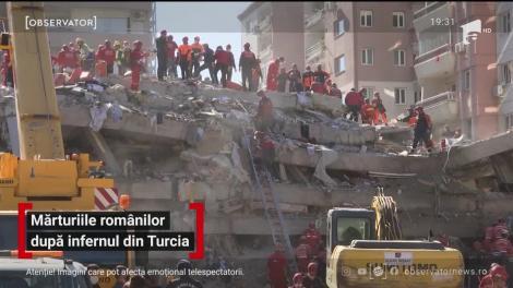 Mărturiile românilor după cutremurul din Turcia