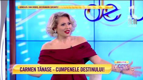 Carmen Tănase, interviu de colecție: Îmi dorec să devin bunică